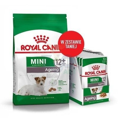 ROYAL CANIN Mini Ageing 12+ 800g + 12x85g saszetka
