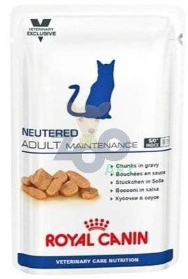 ROYAL CANIN Neutered Adult Maintenance 24x100g saszetka