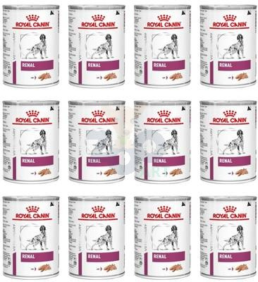 ROYAL CANIN Renal Canine 24x410g puszka