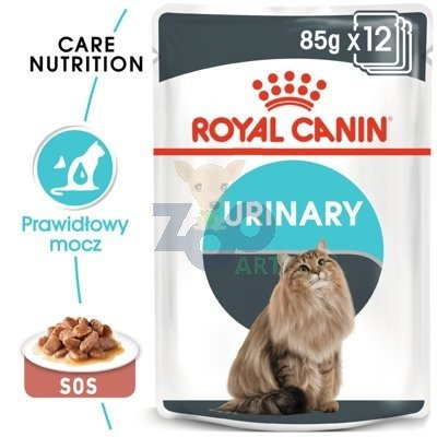 ROYAL CANIN URINARY CARE 24x85 g w sosie