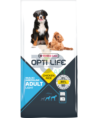 VERSELE-LAGA Opti Life Adult Light Medium & Maxi 12,5kg