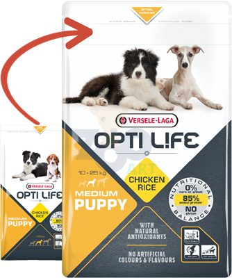 VERSELE-LAGA Opti Life Puppy Medium 2,5kg