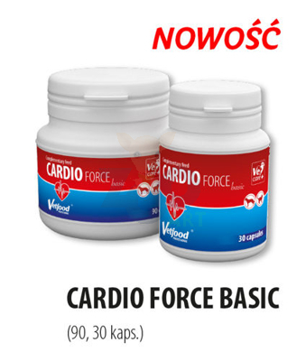 VETFOOD Cardioforce Basic 90 caps