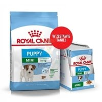 ROYAL CANIN Mini Puppy 8kg + 12x85g saszetka