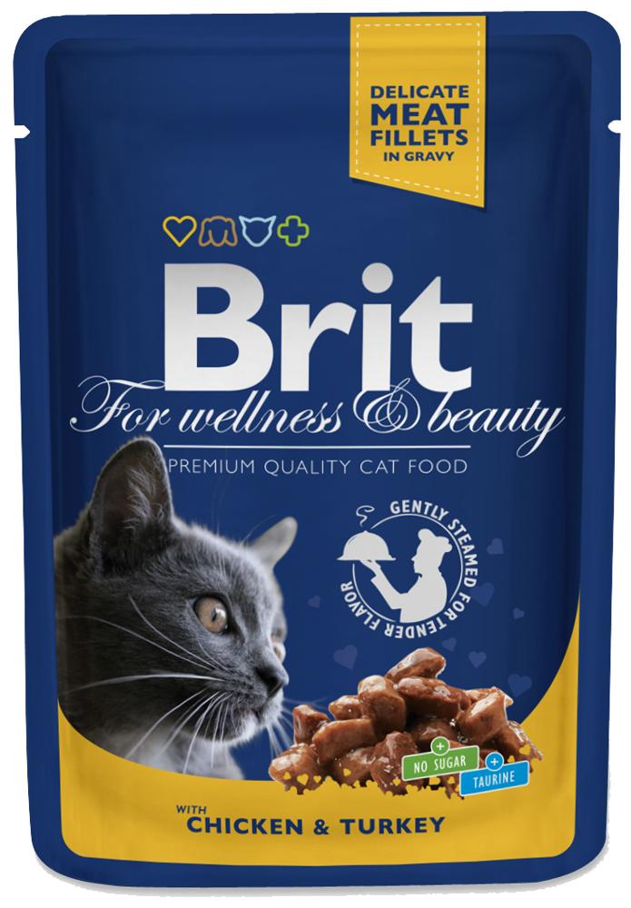 Brit Cat Kurczak I Indyk 100g