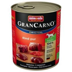 ANIMONDA GranCarno Adult Dog MIX smaków PACK1 6x800g