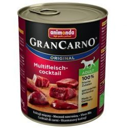 ANIMONDA GranCarno Adult Dog MIX smaków PACK2 6x800g
