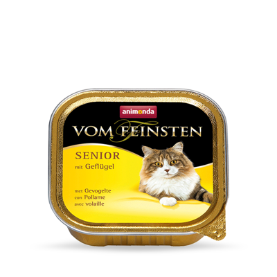 ANIMONDA Vom Feinsten Senior Cat smak: z drobiem 100g