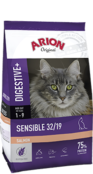 Arion Original Cat Sensible 32/19 Salmon 7,5kg