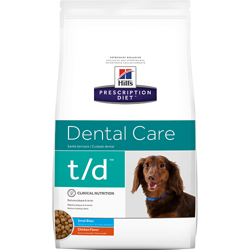 HILL'S PD Prescription Diet Canine t/d Mini Dental Care 3kg