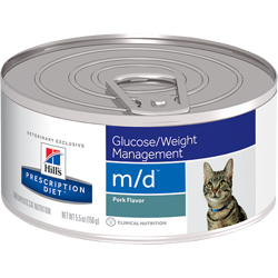 HILL'S PD Prescription Diet Feline m/d 156g - puszka