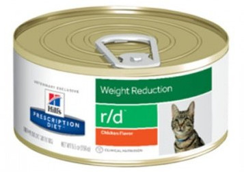 HILL'S PD Prescription Diet Feline r/d 156g - puszka