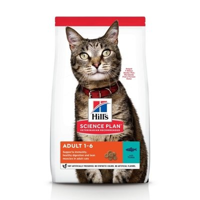 HILL'S SP Science Plan Feline Adult Tuńczyk 10kg