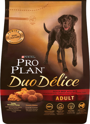 PURINA Pro Plan Adult Duo Delice Beef & Rice 2,5kg