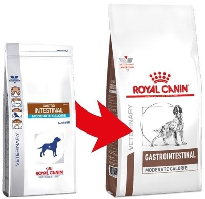 ROYAL CANIN Gastro Intestinal Moderate Calorie GIM23 2kg