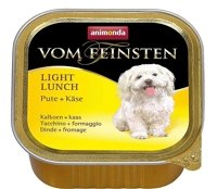 ANIMONDA Dog Vom Feinsten Light Lunch smak: indyk z żółtym serem 150g