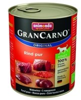 ANIMONDA GranCarno Adult Dog smak: Wołowina 800g
