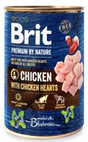 Brit Premium by Nature Chicken With Chicken Hearts 400g