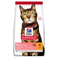HILL'S SP Science Plan Feline Adult Light Kurczak 10kg