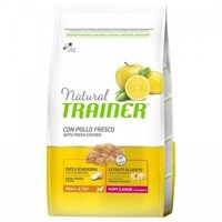 Trainer Natural Small and Toy, Puppy & Junior, kurczak  7 KG